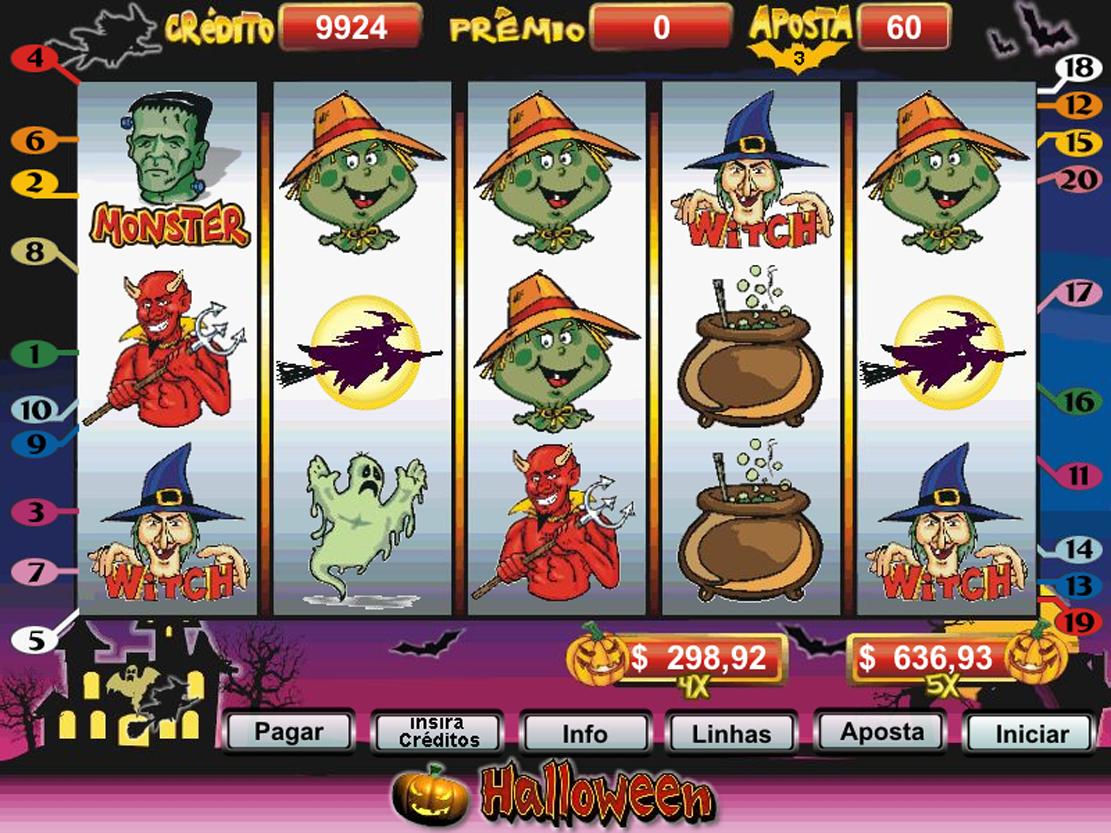 jogo casino halloween download