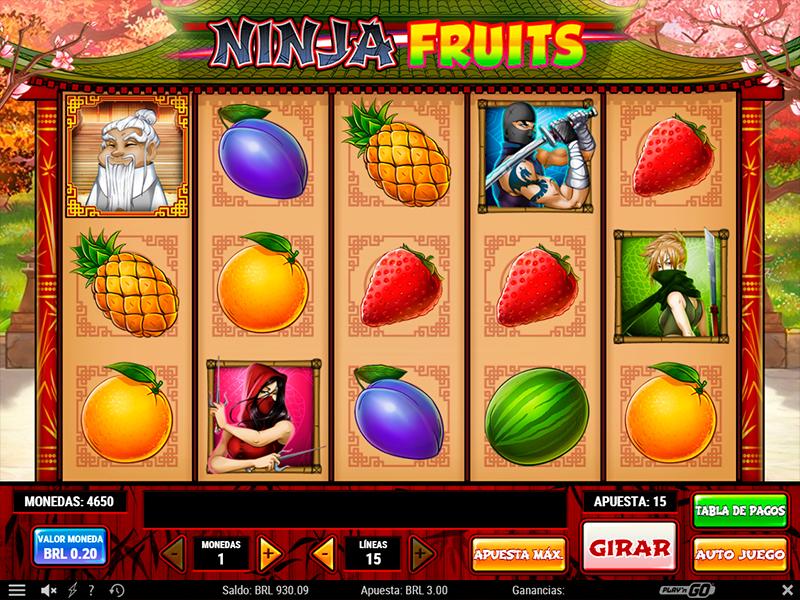 Spiele Ninja Fruits - Video Slots Online