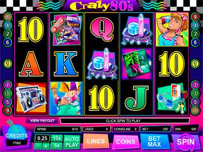 Play slots Crazy 80s   casino   casinoamambay com