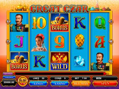 The great czar slot world series of poker espn schedule tv