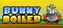Bunny Boiler resembles a board game, were you'll be playing as a cute rabbit who's trying to find his way through an underground maze that leads to great rewards! Easy to play and very entertaining, Bunny Boiler is a great game!