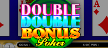 <style type=text/css><!-- br {mso-data-placement:same-cell;} --></style><span style=font-size: 13px; font-family: arial, sans, sans-serif; text-align: left;>Video Poker fans that prefer fast and smooth game play and a comfortably familiar feel to the game will be more than pleased with the game Double Double Bonus Video Poker.</span>