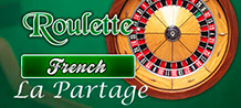 French Roulette La Partage is an online roulette with French game rules. The names of some of these bets are written in French: Sleeves (small numbers), Pass (big numbers).