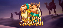 <div>Ride your loyal camel and let the stars be your guide through the desert sands in Golden Caravan, a 5 reel slot machine, where you can enjoy an Arab adventure in up to 10 lines.</div>