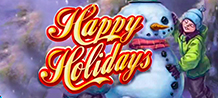 Happy Holidays is a Slot with more than 5 reels and no less than 1024 ways to win. In this game you will find gingerbread cookies, roasted turkey, Christmas beans, snowmen and a cozy music that will give you a feeling of living Christmas wherever you are at any time of the year.