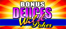 <style type=text/css><!-- br {mso-data-placement:same-cell;} --></style><font color=#FFFFFF><span style=font-size: 13px; font-family: arial,sans,sans-serif; text-align: left;>Bonus Deuces Wild Video Poker is jam-packed with excitement, action....and it's like having 4 Jokers in your pack as well.  We're very pleased to introduce you to a truly unique, online thriller of a video poker game that we call Bonus Deuces Wild Video Poker.</span></font>