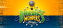 Come on to play with us in your favorite city in our new and exciting game Brazil' s Wonders Bingo! Discover the wonders of Brazil and win prizes!