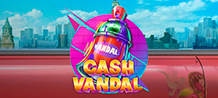 It's time to get on the train and connect with the inner artist who lives inside of you! Cash Vandal will make you travel to London, Paris and Berlin, three cultural centers in Europe with some of the most imaginative graffiti in the world. Have fun in this innovative slot and win an infinite number of prizes!