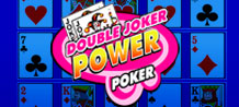 Feel all the excitement of playing 4 Poker hands at the same time and increase your winning chances with two jokers! All of this can be found at Double Joker Power Poker!