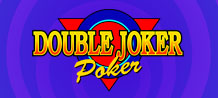 Challenge the dealer on this skill game to find out who completes the strongest hand, try Double Joker Poker!