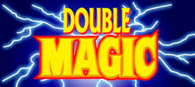 Double Magic is a 3 reel, one payline classic style Video Slot, which offers a Wild symbol to help increase you winning combinations.