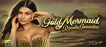 <div>With Gold Mermaid by Renata González, you will live a unique experience in the company of the famous and beautiful Colombian artist Renata González and her golden sea. In the MGA Games our characters gain life! <br/>