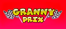 If you think that the grannies do not like strong emotions you are completely wrong! The grannies of the Granny Prix scratch card love a challenge and are ready on their race cars for the start of a race full of prizes!