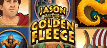 This game is themed on the quest of a young leader and his brave companions, who sail to the ends of the known world to find the golden fleece of a mystical ram, in order to claim Jason's throne from a usurper. Join one of mythology's greatest adventures in Jason and the Golden Fleece!