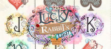 If you enjoy cute and cuddly, then, LUCKY RABBIT'S LOOT™ is just for you!  The softly polished symbols are guaranteed to give you lots of rewards in this fifty line, five-reel, video slot game.  The uniquely hand rendered artwork and originally composed score, create a gentle world that offers all the beauty of winning big!