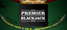 Looking to play Blackjack your own way? Premier Blackjack offers a choice of tables, rules, cards and play speeds to put you in control. Also with AutoPlay and configurable strategy tips, you can play like a pro!