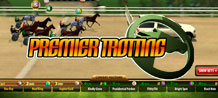 The runners are lining up behind the pace car, we're ready to go, and they're off! Enjoy a splendid trotting experience with Premier Trotting.
