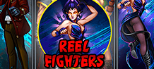 In this age of chaos, a hero is not enough, Reel Fighters are needed to restore balance. This 15-line game guarantees gigantic wins over 1,000 times your bet. Plus, you can get up to 10 free spins!