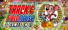 "If you enjoy British pub-style fruit machines, then you'll probably love this slot game. ""Track and Field Mouse"" is a 3 reel pub slot set in an athletics course, where mice compete in various disciplines. Both luck and skills are involved on this game."