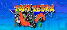 Zany Zebra is a video slot devoted to African safaris and adventures equipped with 3 reels, 5 paylines and as many as 11 winning combinations. Look for the Zany Zebra in order to get some Wild rewards!