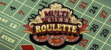 Multi-Wheel online Roulette will give you the opportunity to bet on eight roulettes at the same time! This game makes this possible with smoothly loading graphics and digital sound quality. Play Multi Wheel Roulette with eight-times the action and eight-times the fun!